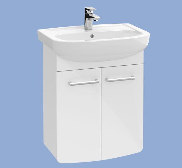 ALFÖLDI SAVAL 2.0 Fehér Mosdószekrény 28 x 53,5 x 69 cm-es A897 E4 01 + SAVAL 2.0 Mosdó 7017 60 01 / komplett szett mosdóval