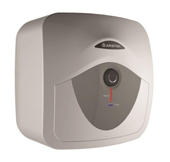 Ariston Andris AN RS 10U EU ERP 10 l-es / 10 literes, alsó elhelyezésű kis bojler / villanybojler / elektromos vízmelegítő, felső kifolyású / 3100330