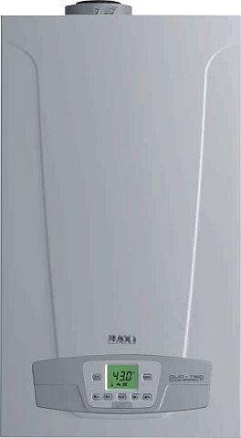 BAXI Duo-Tec Compact 28 ErP fali kondenzációs kombi kazán / gázkazán / fűtés: 24kW, HMV: 28 kW IPX5D BAX_DUOTECCOM28P