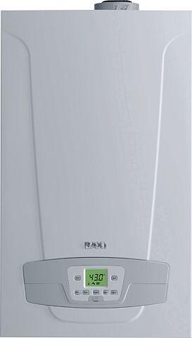 BAXI Nuvola Duo-Tec 24+ ErP kondenzációs fali hőközpont, 45 literes inox tárolóval 24kW / gázkazán / kazán IPX5D  BAX_NUVDUOTEC24P