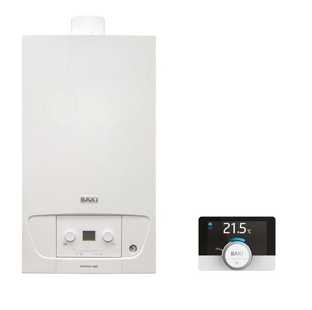 BAXI Prime 24 ErP fali kondenzációs kombi kazán / gázkazán. 24 kW, IPX5D, BAX_PRIME-24P