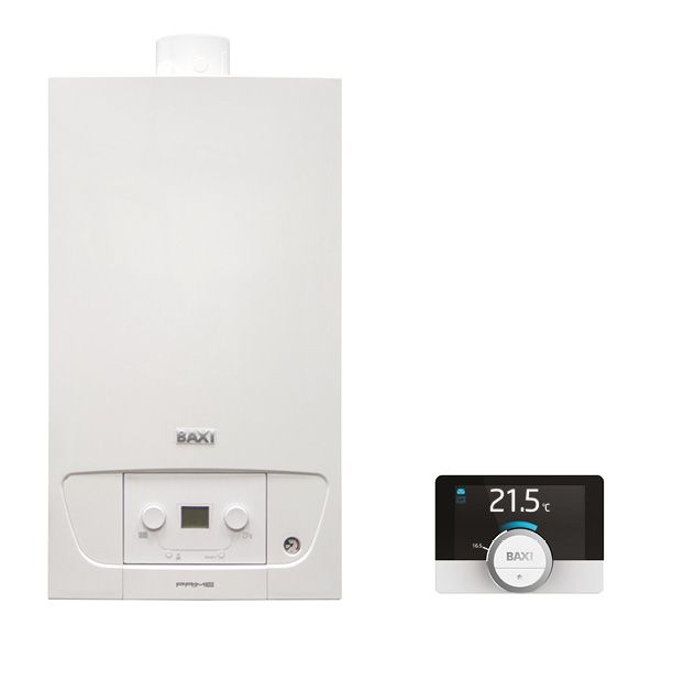 BAXI Prime 28 ErP fali kondenzációs kombi kazán / gázkazán 28 kW, IPX5D, BAX_PRIME-28P