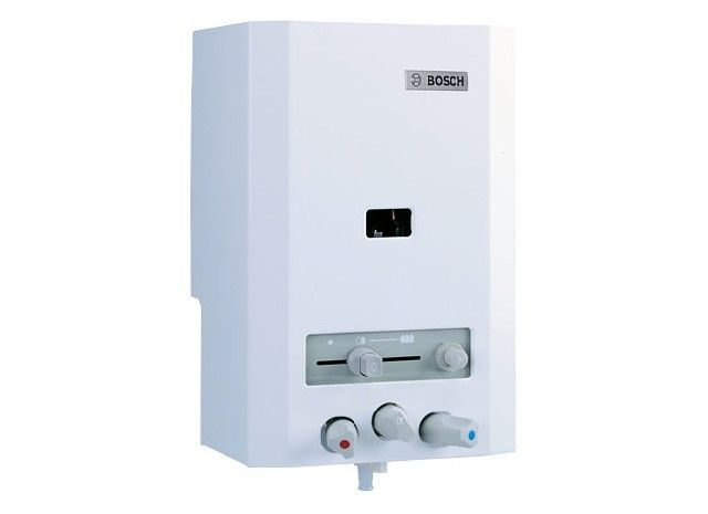 BOSCH Therm 4000 OC W 125 V2P piezo gyújtású, kézi szabályozású kémény nélküli átfolyós rendszerű gáz - vízmelegítő ErP 7700352943