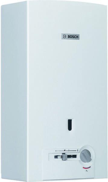 BOSCH Therm 4000 O W 11-2 P piezo gyújtású, kézi szabályozású kéményes átfolyós rendszerű gáz / vízmelegítő, fali, 11 liter / perc / ErP 7701331592