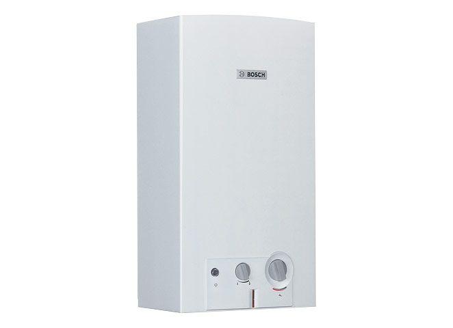 BOSCH Therm 4000 O WR 14-2 B elemes gyújtású, automatikus szabályozású, kéményes átfolyós rendszerű gáz - vízmelegítő ErP 7702331696