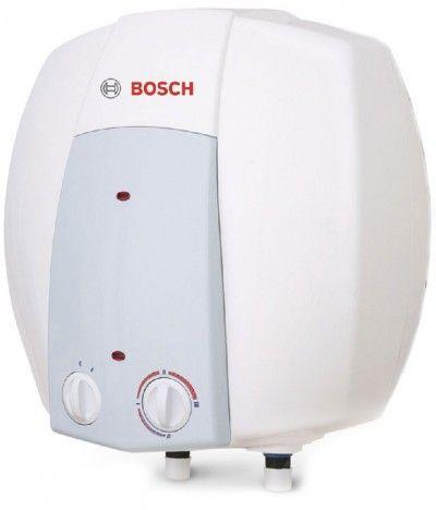 BOSCH Tronic 2000 T mini ES 010 5 1500W BO M1R-KNWVB 10 l-es fali elektromos forróvíz tároló, vízmelegítő, bojler, villanybojler, zománcozott, alsó csatlakozás, felsős elhelyezés, 10 liter /7736501052