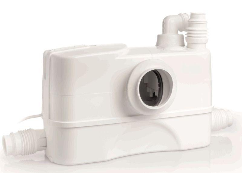 DAB GENIX 130 SCHUKO szennyvíz átemelő / darálós wc szivattyú, 230V, 1 wc+3 csatlakozás, cikkszám: 60161880