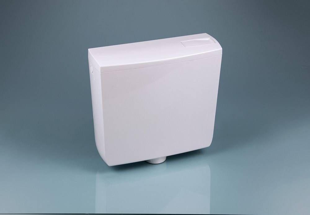 Dömötör ECHO-KM középmagasra szerelhető víztakarékos wc öblítőtartály / tartály, fehér, 104100