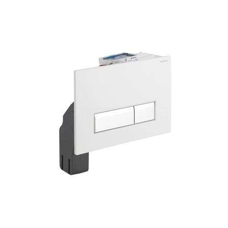 Geberit Sigma40 wc szagelszívó működtető egység / nyomólap ventilátorral, fehér, 115.600.KQ.1 / 115600KQ1, Duofresh beépíthető wc tartályhoz