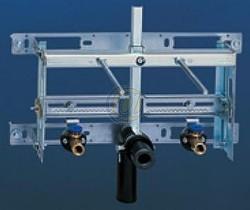 GEBERIT Kombifix beépíthető / befalazható bidé szerelőelem, fali bidéhez 457.530.00.1 / 457530001