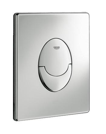 Grohe Skate Air beépíthető wc tartályhoz nyomólap, króm 38505 000 / 38505000