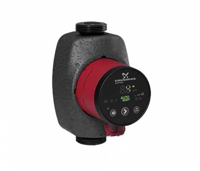 GRUNDFOS ALPHA2 25-80 nagyhatásfokú fűtési keringető szivattyú, 180 mm, 1x230V, cikkszám: 98649757