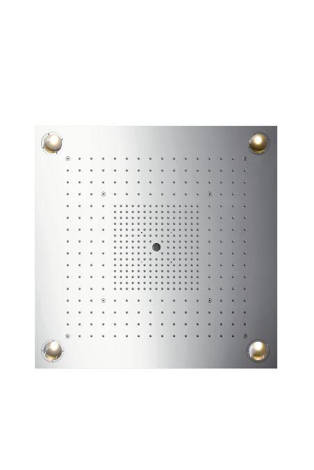 HansGrohe AXOR  Starck ShowerHeaven 720x720 mm DN20 / világítással / rozsdamentes acél / 10627800 / 10627 800