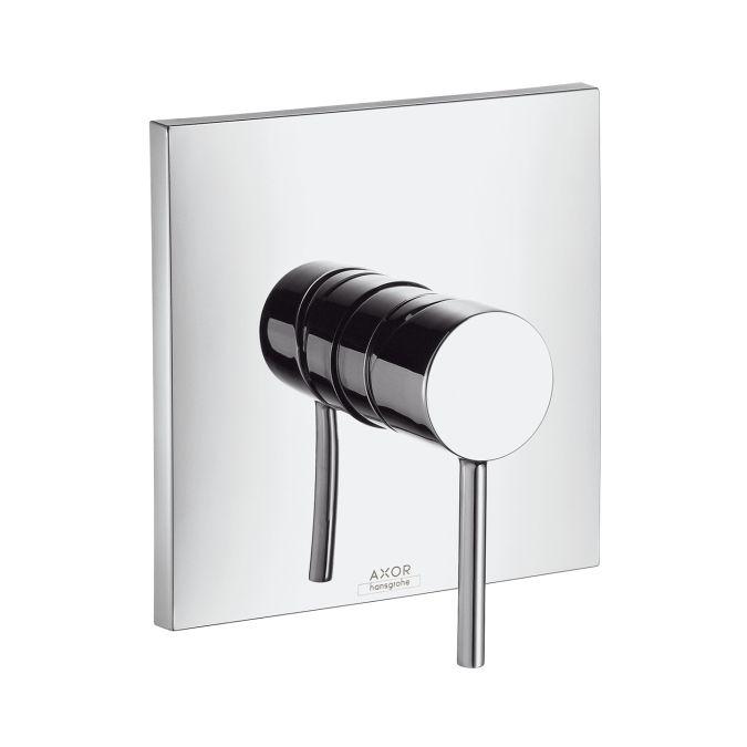 HansGrohe AXOR  Starck X Egykaros, falsík alatti zuhanycsaptelep színkészlet / zuhanykeverő / króm / 10645000 / 10645 000