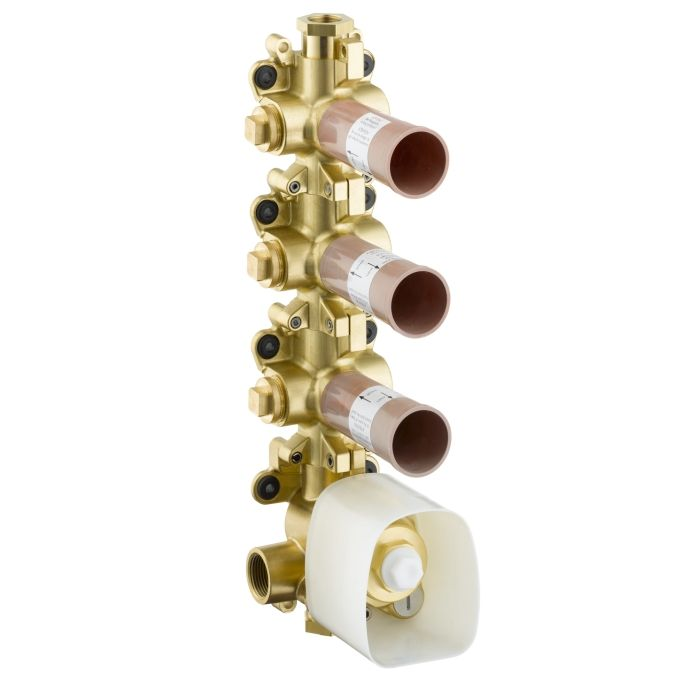 HansGrohe AXOR  Starck ShowerCollection Termosztát modul alaptest DN20 / 36 x 12 / 10750180 / 10750 180
