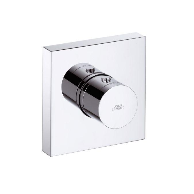 HansGrohe AXOR  Starck ShowerCollection Falsík alatti termosztát színkészlet DN20 / 12x12 / króm / 10755000 / 10755 000