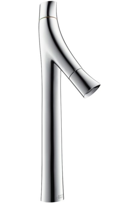 HansGrohe AXOR Starck Organic kétkaros mosdócsaptelep 435 / leeresztő-garnitúra nélkül / mosdótálakhoz / króm / DN15 / 12013000 / 12013 000