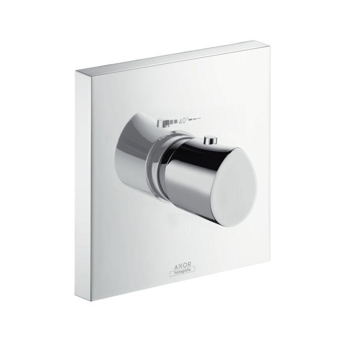 HansGrohe AXOR Starck Organic termosztátos csaptelep színkészlet / falsík alatti szereléshez / króm / DN15 / 12710000 / 12710 000