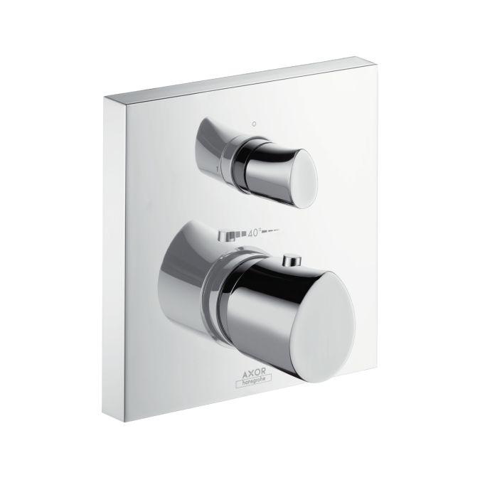HansGrohe AXOR Starck Organic termosztátos csaptelep színkészlet / falsík alatti szereléshez / elzáró- és váltószeleppel / króm / DN15 / 12716000 / 12716 000
