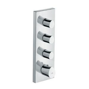 HansGrohe AXOR Starck Organic termosztát modul színkészlet falsík alatti szereléshez 36 x 12 / 12717000 / 12717 000