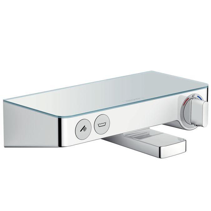 HansGrohe ShowerTablet Select 300 termosztátos kádcsaptelep DN15 / fehér / króm / 13151400 / 13151 400