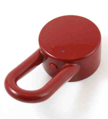 HansGrohe AXOR Fogantyú Uno Color mosdó, bidé és kézmosó csaptelephez / piros / 13290430 6 13290 430