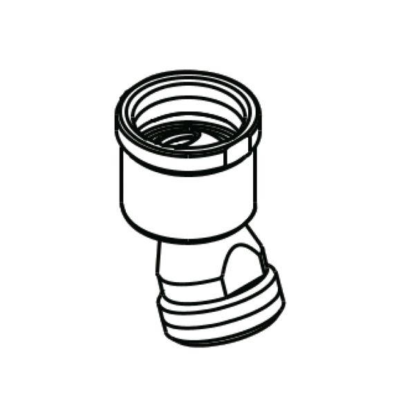 HansGrohe Gömbcsukló zuhanycsőhöz / 13583000 / 13583 000