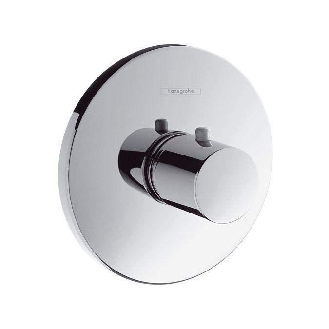 HansGrohe Ecostat S Highlow falsík alatti termosztátos csaptelep színkészlet / króm / 15715000 / 15715 000