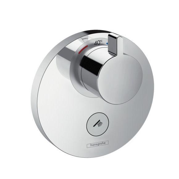 HansGrohe ShowerSelect S termosztátos highflow csaptelep / falsík alatti szereléshez / 1+1 fogyasztóhoz / 15742000 / 15742 000