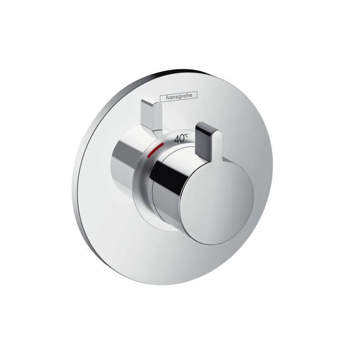 HansGrohe Ecostat S falsík alatti termosztátos highflow csaptelep / 15756000 / 15756 000