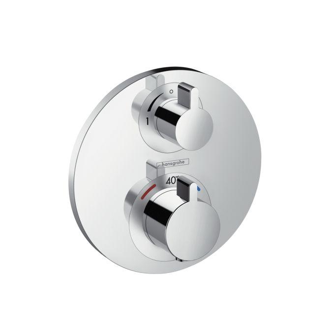 HansGrohe Ecostat S falsík alatti termosztátos csaptelep / 1 fogyasztóhoz / 15757000 / 15757 000