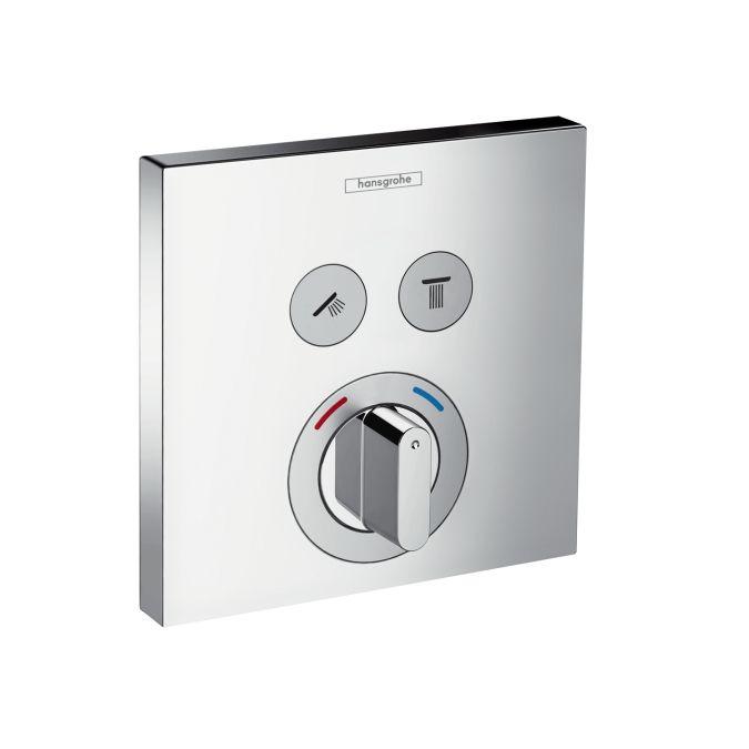 HansGrohe ShowerSelect 2 fogyasztós csaptelep falsík alatti szereléshez / 15768000 / 15768 000