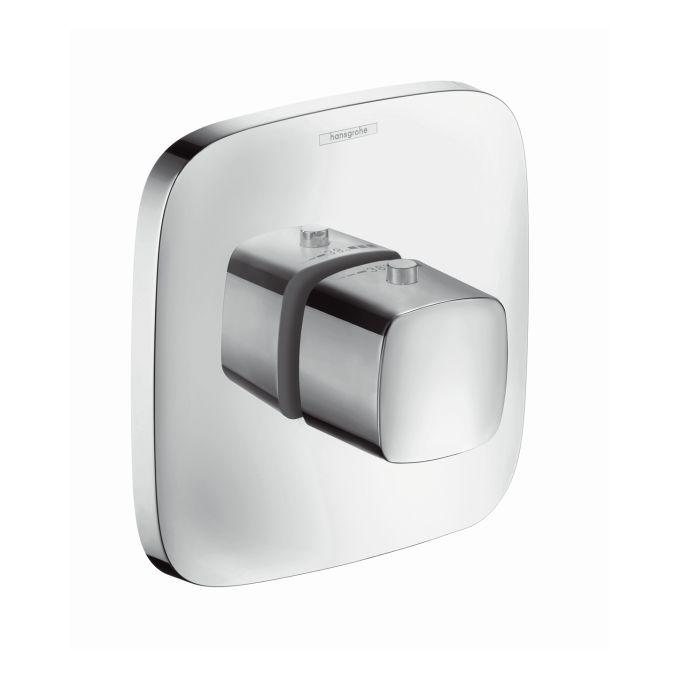 HansGrohe PuraVida Highflow falsík alatti termosztát színkészlet / króm / 15772000 / 15772 000