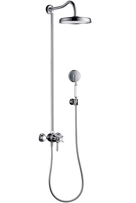 HansGrohe Showerpipe termosztátos csapteleppel / 1jet fejzuhany EcoSmart 9 liter/perc / 16571820 / 16571 820