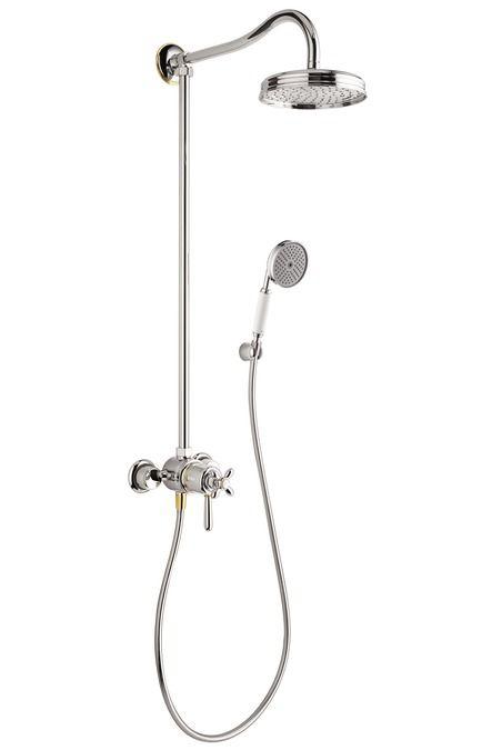 HansGrohe Showerpipe termosztátos csapteleppel /1jet fejzuhany EcoSmart 9 liter/perc / 17671090 / 17671 090
