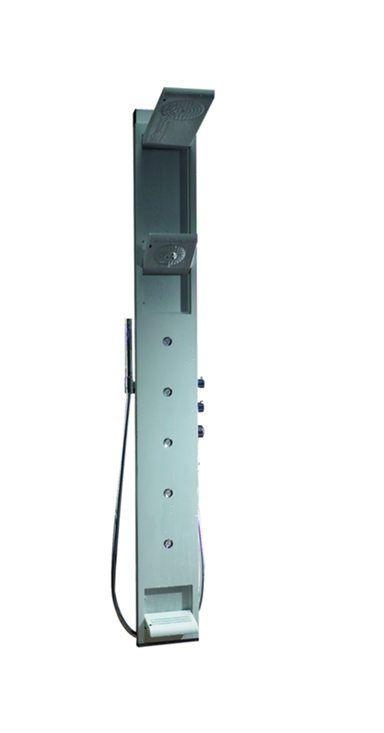 HansGrohe PH SkyLine 150 zuhanypanel / fali-változat / manuális vezérléssel / matt-króm / 26015000 / 26015 000