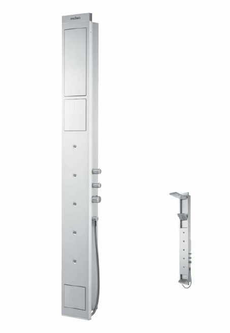 HansGrohe PH SkyLine zuhanypanel / fali-változat / manuális vezérléssel / matt-króm / 26017000 / 26017 000