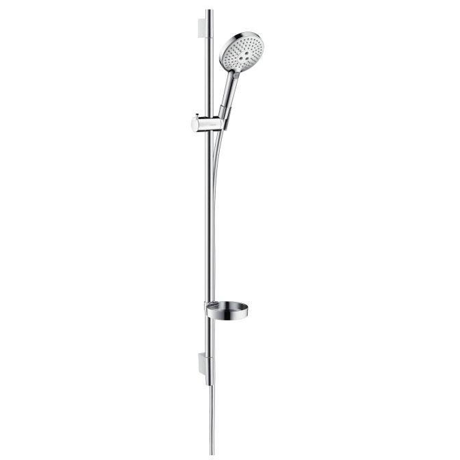 HansGrohe Raindance Select S 120 Ecosmart 9 l/perc/Unica'S Puro zuhanyszett 0,90 m / fehér-króm / 26633400 / 26633 400