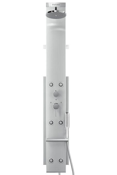 HansGrohe PH Lift 2 M 20 zuhanypanel / fali változat / manuális vezérléssel / matt-króm / 26871000 /  26871 000