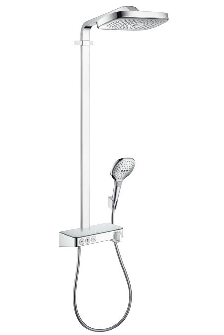 HansGrohe RD Select E 300 3jet Showerpipe / króm / 27127000 / 27127 000