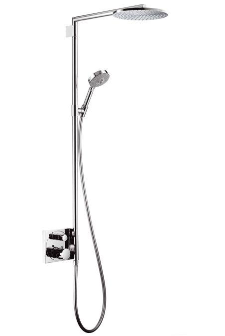 HansGrohe Raindance S 240 Showerpipe falsík alatti szereléshez / 460 mm-es zuhanykar / DN15 / króm / 27145000 / 27145 000