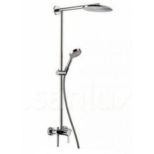 HansGrohe Raindance S 240 Showerpipe egykaros csapteleppel / 460 mm-es zuhanykarral / DN15 / króm / 27193000 / 27193 000