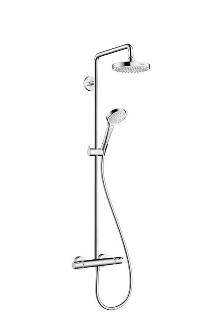 HansGrohe Croma Select S 180 2jet Showerpipe / 27253400 / 27253 400