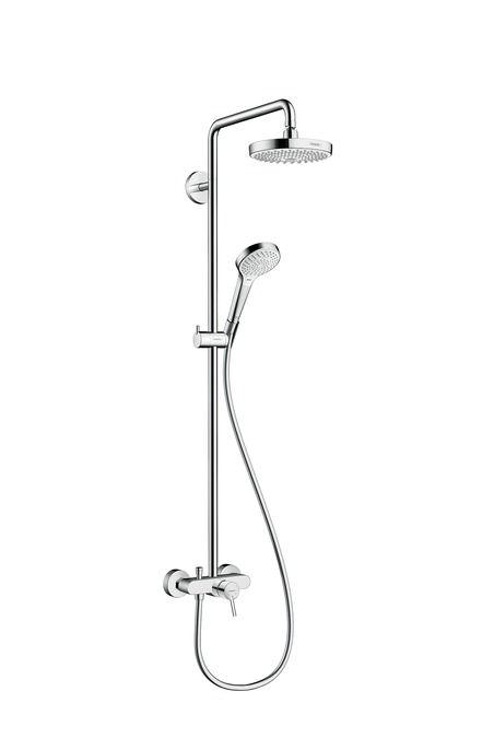 HansGRohe Croma Select S 180 2jet Showerpipe / egykaros csapteleppel / 27255400/ 27255 400