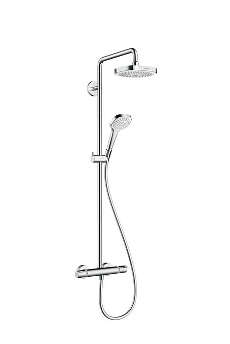 HansGrohe Croma Select E 180 2jet Showerpipe EcoSmart 9 liter/perc / 27257400 / 27257 400