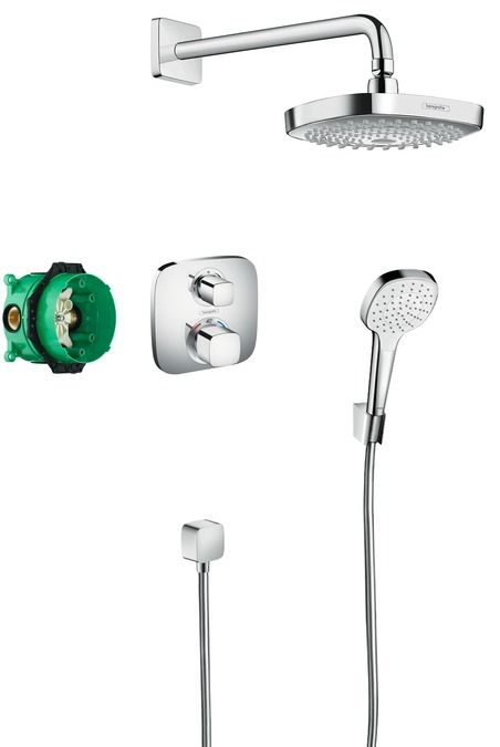 HansGrohe Design ShowerSet Croma Select E / Ecostat E / 27294000 / 27294 000