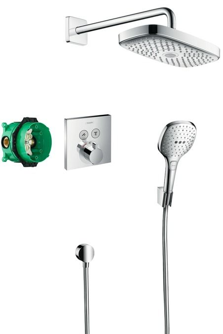 HansGrohe Design ShowerSet Raindance Select E / ShowerSelect / 27296000 / 27296 000