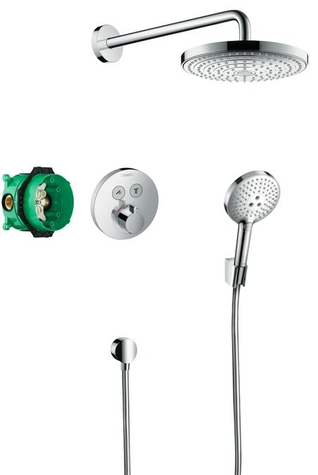 HansGrohe Design ShowerSet Raindance Select S / ShowerSelect S / 27297000 / 27297 000