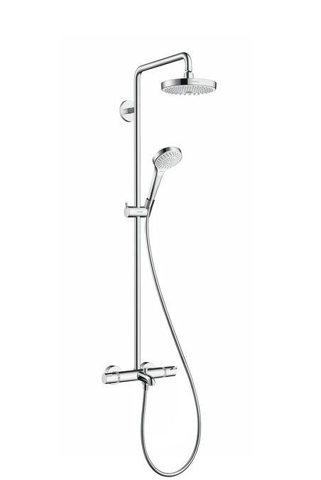 HansGrohe Croma Select S 180 2jet Showerpipe kádhoz / 27351400 / 27351400