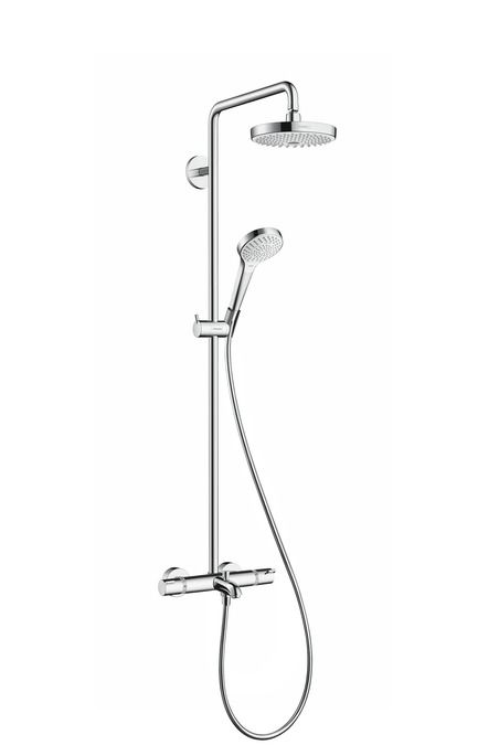 HansGrohe Croma Select S 180 2jet Showerpipe kádhoz / 27351400 / 27351400